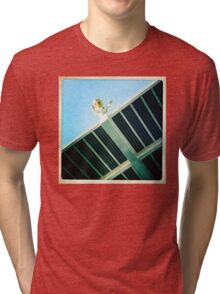 There's a starman waiting in the sky... Tri-blend T-Shirt
