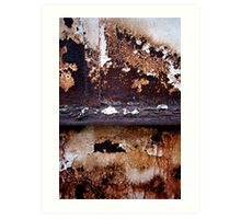 Divided and Worn Art Print