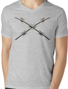 Razor Wire Mens V-Neck T-Shirt