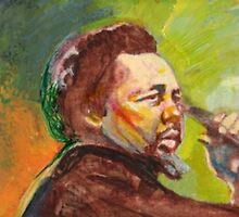 Charles Mingus Portrait by Michael Facey