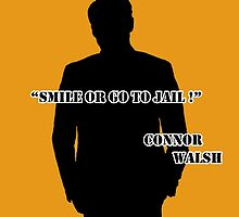 Smile or go to jail ! - Connor Walsh by Sheeta