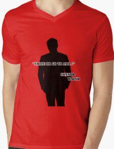 Smile or go to jail ! - Connor Walsh Mens V-Neck T-Shirt