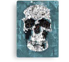 The Blue Skull of Baker Street Canvas Print