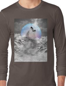 Maybe the Wolf Is In Love with the Moon Long Sleeve T-Shirt