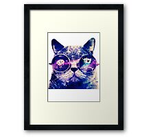 Adventure Time Cat Framed Print