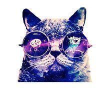 Adventure Time Cat Photographic Print