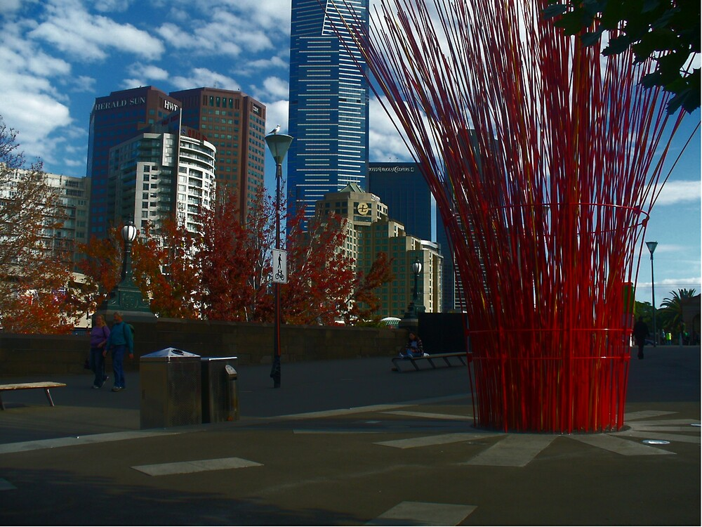 Fed Square/City by N Chester