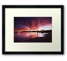 Majestic Morning - Lake Albert, Meningie Framed Print