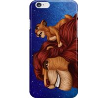 Lion King: Whenever You Feel Alone... iPhone Case/Skin