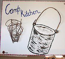 Camp Kitchen by opalgypsy