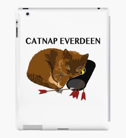 Catnap Everdeen iPad Case/Skin