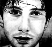 Jeff Buckley by Bonnie Aungle
