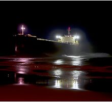 Pasha Bulker at Night by Michael Cuneo