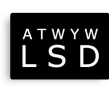 ATWYW - Headliner Invert Canvas Print