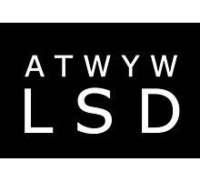 ATWYW - Headliner Invert Photographic Print