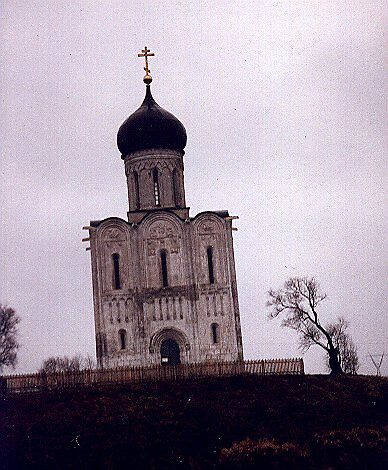 Church of Pokrov_na_Nerli, 12th century, Russia by Andrei