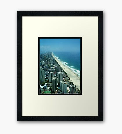 Coastline Framed Print