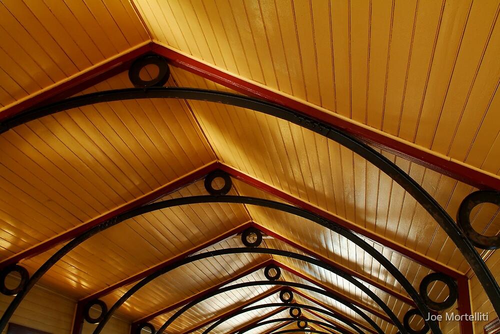 Above, Queenscliff Pier Shelter Shed by Joe Mortelliti
