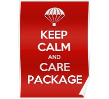 Keep Calm - Care Package Poster