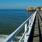 Sunny Day, Queenscliff Pier by Joe Mortelliti