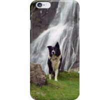 Indy at Aber Falls iPhone Case/Skin