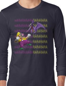 Wario versus a Cractyl Long Sleeve T-Shirt