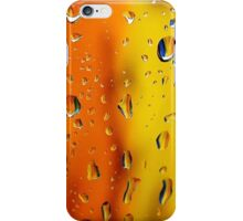 Wet colors- orange and yellow iPhone Case/Skin