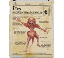 Practical Visitor's Guide to the Labyrinth - Firey Page 1 iPad Case/Skin