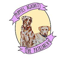 Puppies Against Patriarchy  Photographic Print