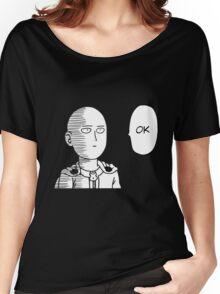 One Punch Man Saitama - Ok Women's Relaxed Fit T-Shirt