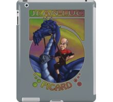 Jean-Luc Picard and the Dragon iPad Case/Skin