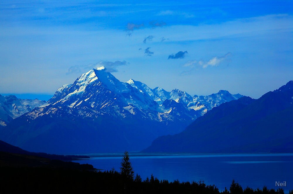 Mount Cook by Neil
