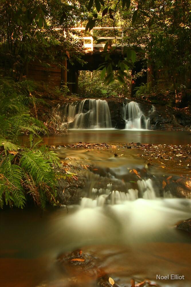 Waterfall  #1 by Noel Elliot