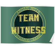 Team Witness. Poster