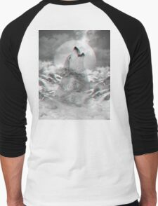 Maybe the Wolf Is In Love with the Moon Men's Baseball ¾ T-Shirt