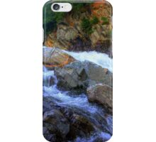 Colored Steps at Livermore Falls, Plymouth, NH iPhone Case/Skin