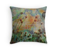 Sedges Throw Pillow
