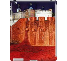 The Tower of London Poppies - 1 iPad Case/Skin