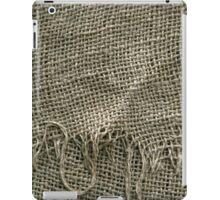 Burlap Sack Texture iPad Case/Skin