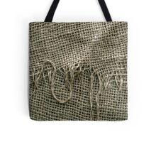 Burlap Sack Texture Tote Bag