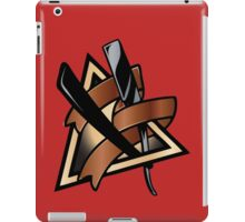 Barber Straight Razor iPad Case/Skin