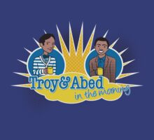 Troy and Abed in the Morning by rexraygun