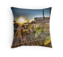 White Bay Sunrise 1 Throw Pillow