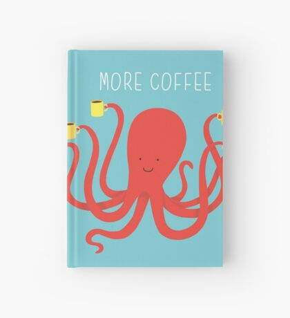 more coffee Hardcover Journal
