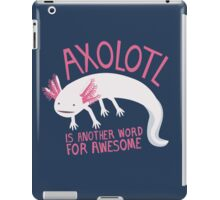 Another Word for Awesome iPad Case/Skin