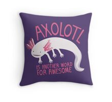 Another Word for Awesome Throw Pillow