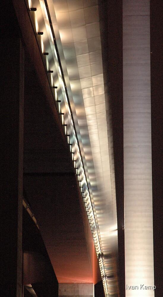 Night under the Bolte Bridge by Ivan Kemp