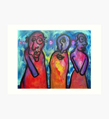 The three wise women Art Print