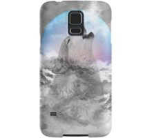 Maybe the Wolf Is In Love with the Moon Samsung Galaxy Case/Skin