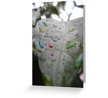 Liquid Imagination - Rainbow Cloud Juice Series Greeting Card